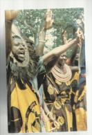 CARTOLINA  DI TANZANIA TANZANIAN DANCERS IN FESTIVE MOOD - Tanzania