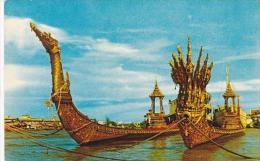 Thailand Bangkok Suwanna-Hongse &amp amp  Nakraj Barges Celebrat