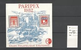 Vignette  CNEP   Paripex 1982    Cote 16 € - CNEP