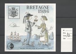 Vignette  CNEP   Bretagne 1986 Cote 12 € - CNEP