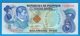FILIPINAS - PHILIPPINES -  2 Piso ND SC  P-159  Numeros En Rojo - Filipinas