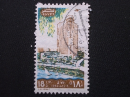 "EGYPTE  Aérien  ( O )  De  1982   ""  Inauguration Du Hiton RAMSES     ""    N° A 166        1 Val . - Poste Aérienne"