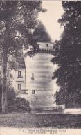 CPA 36 @ VILLEDIEU SUR INDRE @ Le Château De Villedieu Avant Qu'il Soit En Ruine - La Tour - France