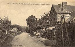 76 Saint Hellier.  Route De Dieppe à Saint Saens - Other Municipalities