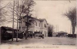 Pierrelatte – 17 Vue Extérieure De La Gare (diligences) - Autres Communes