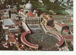 VEDUTA AEREA DI PIAZZA S. PIETRO     OHL - Vaticaanstad