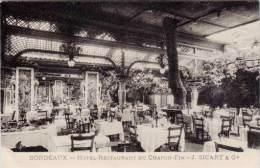 Bordeaux – Hôtel-Restaurant Du Chapon-Fin - Bordeaux