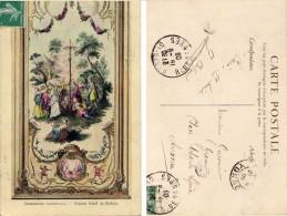 CPA Imprimerie Nationale - Ancien Hotel De Rohan - 1909 - Paintings