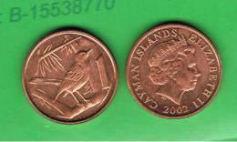 CAIMAN - CAYMAN ISLANDS - 1 Cent  2002  KM131 - Caimán (Islas)