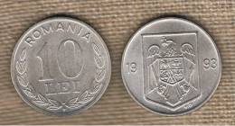 RUMANIA  -  10  Lei 1993  KM116 - Rumania