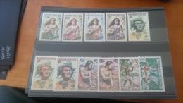LOT 159185 TIMBRE DE COLONIE POLYNESIE NEUF* N�1 A 11 VALEUR 37 EUROS