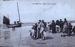 FORT MAHON DEPART POUR LA PECHE - Fort Mahon