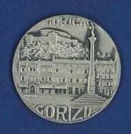 MEDAGLIA ARGENTO  - CITTA ' DI GORIZIA - GORICA - GURIZIA - GORZ - Gettoni E Medaglie