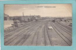 LIBRAMONT  -  INTERIEUR  (E ) DE  LA  GARE  -  1919 -   BELLE CARTE  ANIMEE - - Libramont-Chevigny