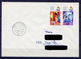 DDR Nr.1829/30     Sammler FDC Gelaufen   (B044)  (Jahr:1973) Nordhausen Ersttag - FDC: Enveloppes