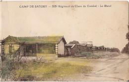 PLAN PEU COMMUN CAMP DE SATORY 503 EME REGIMENT DE CHARS DE COMBAT LE STAND - Versailles