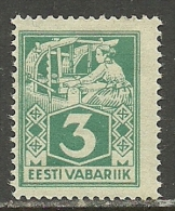 ESTLAND Estonia Estonie 1924 Michel 36 Type II - Estonia