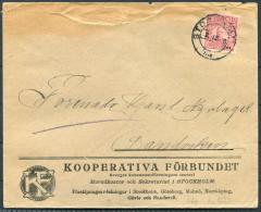 1918 Sweden Kooperativa Co-operative Advertising Cover
