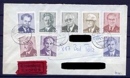 DDR Ex.Nr.1907/17     Sammler Brief Eilsendung Express Gelaufen   (B063)  (Jahr:1973) Leipzig - Covers & Documents