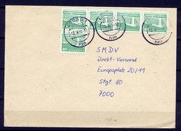 DDR Nr.2484w MEF     Brief Gelaufen   (B080)  (Jahr:1990) Löbau - DDR