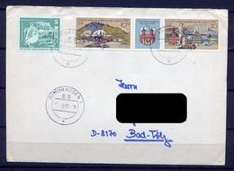 DDR Nr.2532/3 Streifen     Sammler Brief Gelaufen   (B082)  (Jahr:1980) Nordhausen - DDR