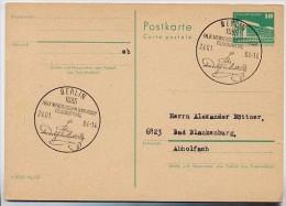 175. Geb. FELIX MENDELSSOHN BARTHOLDY Berlin 1984 Auf DDR P 84 Postkarte - Musica