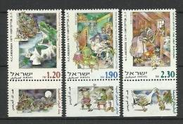 Israel 2000  H.C. Andersen 1483/1485 *** - Israel