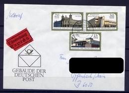 DDR Nr.3145/7      Sammler Brief Eilsendung Express Gelaufen   (B103)  (Jahr:1988) Dresden - DDR