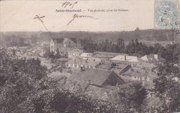 Cp , 51 , SAINTE-MENEHOULD , Vue Générale Prise Du Château - Sainte-Menehould