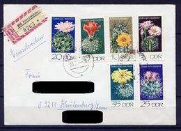 DDR Nr.1922/7       Sammler Brief Einschreiben Gelaufen     (B125)  (Jahr:1974) Altentreptow - Covers & Documents