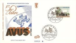 Germany (Berlin) 1971  50 Jahre AVUS-Rennen  FDC  Mi.397 - [5] Berlin