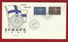 FINLAND--FDC--EUROPA-1960,YEAR - Finlande