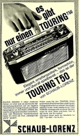 Reklame Werbeanzeige  ,  Schaub-Lorenz Transistorradio Touring T50  -  Es Gibt Nur Einen T50 ,  Von 1965 - Wissenschaft & Technik