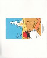Magnifique Serigraphie 24x19 Cm Tintin Le Crabe Aux Pinces D'or Planche 30 Strip 6 - Sérigraphies & Lithographies