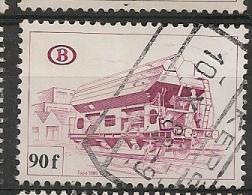 BELGIE BELGIQUE TR450 Cote 7.00€ Oblitéré Gestempeld Used - 1952-....