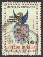 Portuguese India, 4.50 E. On 1 R. 1959, Sc # 587, Mi # 559, Used - Portuguese India