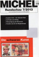 MICHEL Briefmarken Rundschau 7/2013 Neu 5€ New Stamps Of The World Catalogue Magacine Of Germany ISBN 4 194371 105009 - German