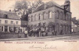 BAUDOUR - Brasserie Brouette - Très Bon état - Voyagé 1904 - Ohne Zuordnung