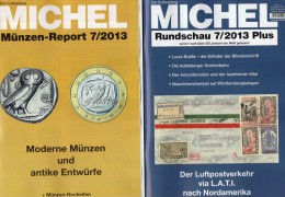 MICHEL Briefmarken Rundschau 7/2013 Plus New 5€ New Stamps Coins Report Catalogue Magacine Germany ISBN 4 194371 105009 - Books & Software