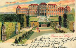 [DC8748] VIENNA WIEN BELVEDERE - Old Postcard - Primi '900 - Belvedere