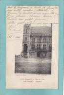LOO  -  L ' Hotel  De  Ville -  1917  -  BELLE  CARTE     - - Lo-Reninge
