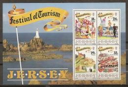 TURISMO - JERSEY 1990 - Yvert #H5 - MNH ** - Vacaciones & Turismo