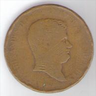 REGNO DI NAPOLI - FERDINANDO II - 5 TORNESI 1 TIPO 1839 (ZECCA NAPOLI) NON COMUNE - Monnaies Régionales