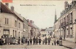 Acy-en-Multien – La Grande-Rue Et La Place - France