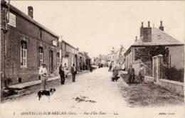 Montreuil-sur-Brèche – Rue D'en Haut - France