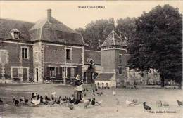 Wariville (Oise) (ferme/château, Poule) - France