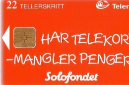 SOLOFONDET  ( Norway Cip Card ) Norvege - Norvège