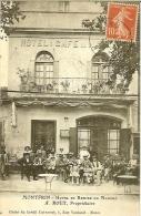 MONTFRIN (30) HOTEL ET REMISE DU MARCHE - A. ROUX PROPRIETAIRE - France
