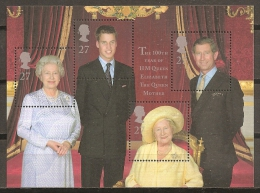 FAMILIAS REALES - GRAN BRETAÑA 2000 - Yvert #H12 - MNH ** - Familias Reales