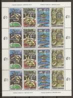 GRECIA 1989 - Yvert #1699/720 (Minipliego) - MNH ** - Hojas Completas